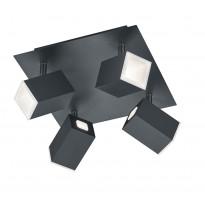 LED-spotti Trio Lagos 160x250x250 mm mattamusta