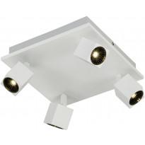 LED-kattospotti Trio Cuba 140x280x280mm, mattavalkoinen, Verkkokaupan poistotuote