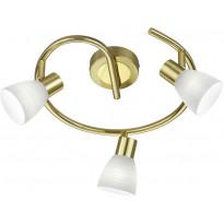 LED-kattospotti Trio Carico, Ø 295x180mm, mattamessinki
