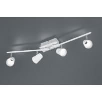 LED-kattospotti Trio Narcos 200x815x80 mm, valkoinen