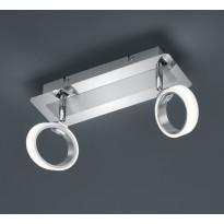LED-kattospotti Corland, 2-osainen, 300x110x140mm, kromi