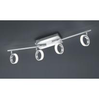 LED-kattospotti Corland, 4-osainen, 810x110x140mm, kromi