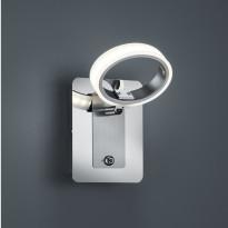 LED-seinäspotti Corland 110x150x140mm, kromi