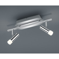 LED-Kattospotti Trio Zidane, 340x120x175 mm, 3-osainen kromi