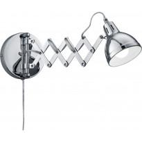 Seinävalaisin Trio Scissor, Ø 105x530 mm, kromi