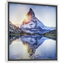LED-seinävalaisin Trio Mountain, 420x420x46mm