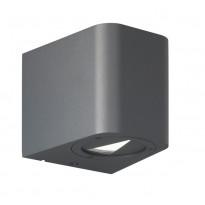 LED-seinävalaisin Trio Bogota 98x90 mm, antrasiitti IP54