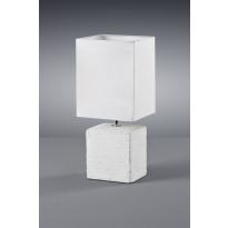 Pöytävalaisin Trio Ping, 130x110x290 mm, valkoinen
