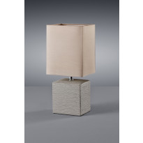 Pöytävalaisin Trio Ping, 130x110x290 mm, ruskea