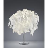 Pöytävalaisin Trio Leavy Ø 450x600 mm, valkoinen