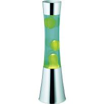 Laavalamppu Trio Lava, Ø 110x410mm, vihreä
