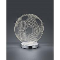 LED-pöytävalaisin Trio Ball, 200x220x120mm, kromi