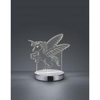 LED-pöytävalaisin Trio Karo, 170x175x120mm, kromi