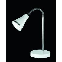 LED-pöytävalaisin Trio Arras LED 3.8W, IP20, Ø115x470 mm, valkoinen