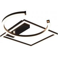 LED-kattovalaisin Trio Pivot, mattamusta