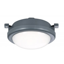 LED-kattovalaisin Trio Hamal Ø140x70 mm, antrasiitti IP54
