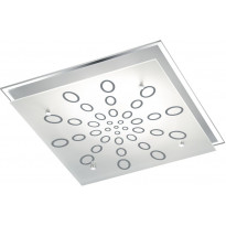 LED-plafondi Trio Dukat, 320x75x320mm, kromi