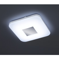 LED-kattovalaisin Trio Venus, 330x330x70 mm, kromi