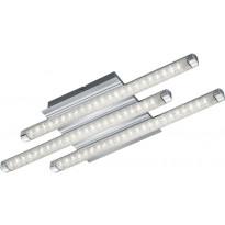 LED-kattovalaisin Trio Street, 500x50x180mm, kromi, kristalliefekti
