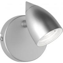 LED-kattospotti Trio Rouen, 80x130x105 mm, titaani