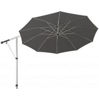 Aurinkovarjo MAY Mezzo MG, 3,3m, pyöreä, tummanharmaa