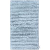 Kylpyhuoneen matto Tom Tailor Cotton Stripe, eri kokoja, sininen
