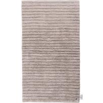Kylpyhuoneen matto Tom Tailor Cotton Stripe, eri kokoja, hiekka