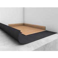 Alusmateriaali Tarkett Tarkomfort Premium Starfloor Click -lukkoponttivinyylille, musta, 15 m²/rll