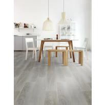 Vinyylilattia Tarkett, Starfloor Click 55, Modern Oak - White, 1-sauva, harmaa