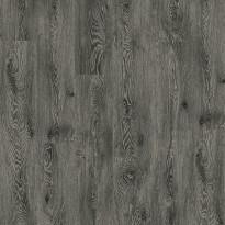 Vinyylilattia Tarkett, Starfloor Click 55, White Oak - Black, 1-sauva, musta