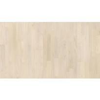Parketti Tarkett Shade Tammi Northern White TreS, valkoinen, 3-sauva, mattalakattu