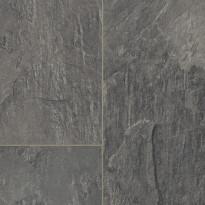Laminaatti Tarkett, Nordic Stones, French Slate Black, laatta, harmaa