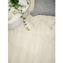 Laminaatti Tarkett SoundLogic 832 Cotton Oak, vaalea tammi, 3-sauva, myyntierä 12,21m², Verkkokaupan poistotuote