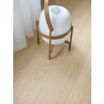 Puuviilulattia Tarkett Viva Tammi White, 1-sauva, luonnollinen vaalea, myyntierä 16,65m², Verkkokaupan poistotuote