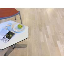 Parketti Tarkett Shade Tammi Cream White TreS, 3-sauva, luonnollinen vaalea (7870030)