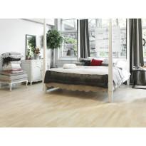 Parketti Tarkett Shade Saarni Linen White TreS, vaalea, 3-sauva, mattalakattu