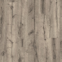 Laminaatti Tarkett, SoundLogic, Heritage Grey Oak, 1-sauva, harmaa