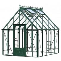 Kasvihuone Robinsons Victoria Ratcliffe, 8,5m², turvalasi/vihreä