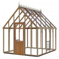 Kasvihuone SUN Alton Harrow Victorian, 10,2m², turvalasi/puurunko