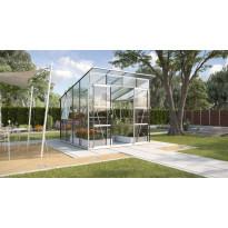 Kasvihuone Vitavia Freya 7600, 6,5 m², turvalasi/alumiini