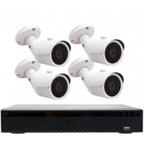 Valvontakamerapaketti T-Cam DVR 8004 4K