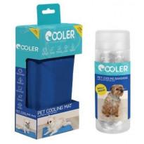 Koiran viilennyssetti Cooler, S-kokoinen matto ja S/M- kokoinen huivi