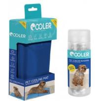 Koiran viilennyssetti Cooler, M-kokoinen matto ja S/M- kokoinen huivi