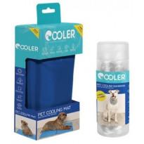 Koiran viilennyssetti Cooler, M-kokoinen matto ja L/XL- kokoinen huivi