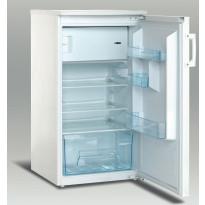 Jääkaappi pakastelokerolla UNIT URF-120, 133/17l, 102,5x54x58cm, valkoinen