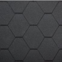 Leikkimökin kattomateriaalipaketti Fixu, musta