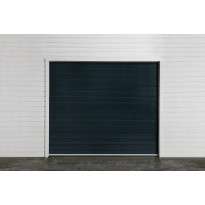Autotallin nosto-ovi Turner T210, 2500x2000mm, vaakaura, tummanharmaa