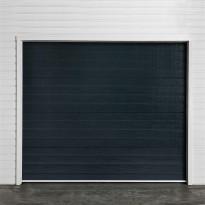 Autotallin nosto-ovi Turner T210, 2500x2100mm, vaakaura, harmaa