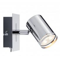 LED-spottivalaisin Paulmann Rondo 100x105x120 mm kromi