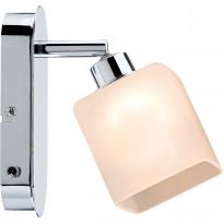 LED-seinävalaisin Paulmann QuadLed 65x160x105 mm kromi/valkoinen